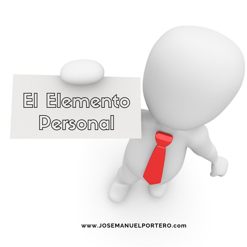 #07 Coaching. El Elemento personal