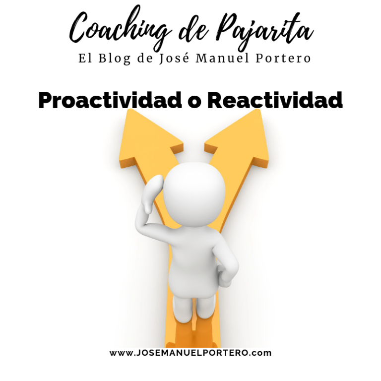Reactivo o Proactivo