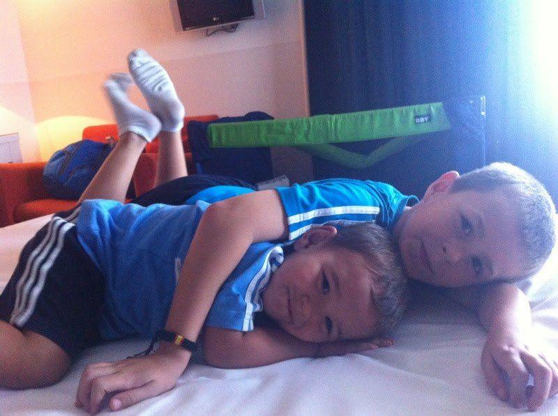 2011 ¡Esas NO siestas de vacaciones con Guille!