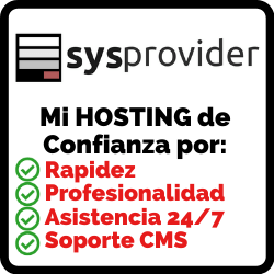 SYSPROVIDER-MI HOSTING DE CONFIANZA