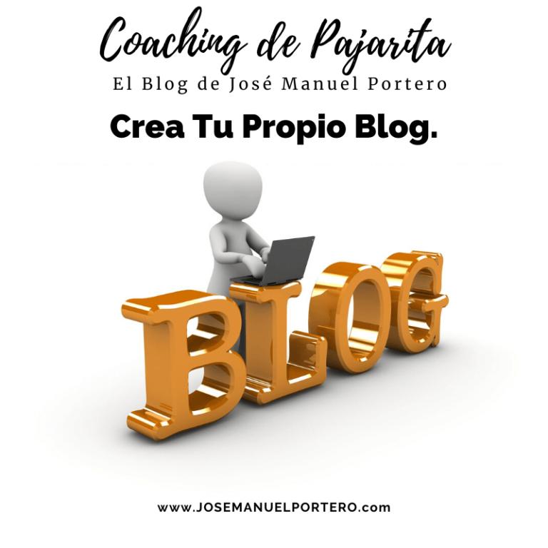 Crea Tu Propio Blog