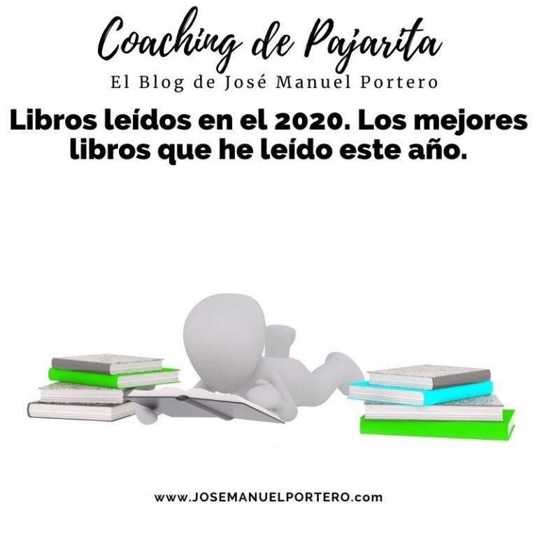 Libros leídos en el 2020